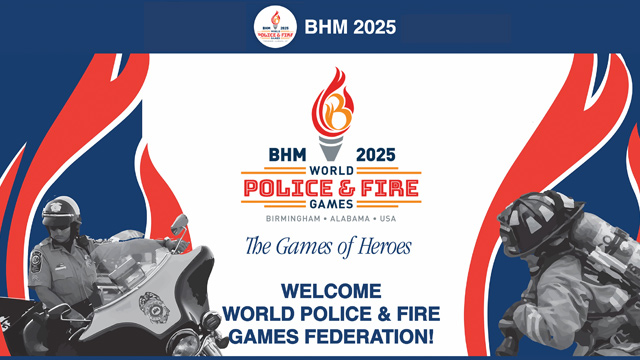 2025 World Police and Fire Games coming to Alabama