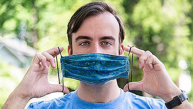 The right way to wear and clean your cloth face mask