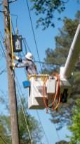 Storm restoration in Pinson, April 2020 (Dennis Washington / Alabama NewsCenter)