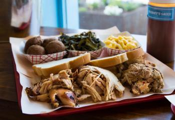 The ease of reheating and enjoying Rodney Scott's BBQ has made it a popular choice for takeout meals during the COVID-19 crisis. (Angie Mosier)