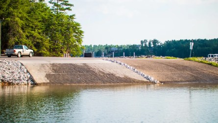 The Alabama Department of Conservation and Natural Resources also added an additional ramp and docks to the nearby boat launch. (Dennis Washington / Alabama NewsCenter)