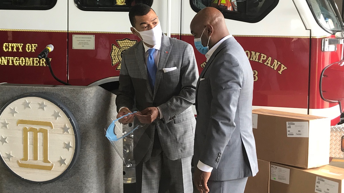 AFLAC donates 10,000 face shields to Montgomery County EMA