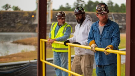 Union volunteers donated more than 1,000 hours of their time and trade skills. (Dennis Washington / Alabama NewsCenter)