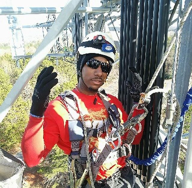 Antonio Terrell gets a jump-start on training for a future job. (Dannon Project)