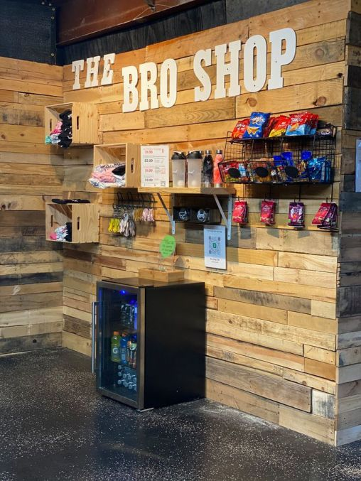 """Stepbrothers Lamir Whitlow, 14, and David Faulk, 13, started The Bro Shop earlier this year at The Compound in Madison. Their motto is """"Get Through It."""" (The Bro Shop)"""
