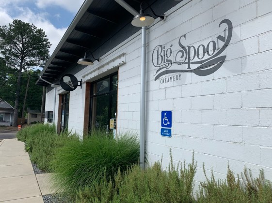 Big Spoon Creamery started out as a cart and now has two stores in Birmingham and Homewood. (Ike Pigott/Alabama NewsCenter)