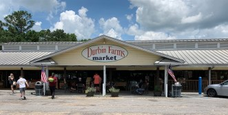 Durbin Farms Market in Clanton is famous for its peach ice cream made with Chilton County peaches. (Ike Pigott/Alabama NewsCenter)