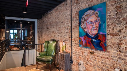 The McDaniels teamed up with Gavin Prier with Prier Construction, Ivy Schuster of Hatcher Schuster Interiors and Eric Hendon with Hendon + Huckestein Architects to take advantage of the building's good bones. (Dennis Washington / Alabama NewsCenter)