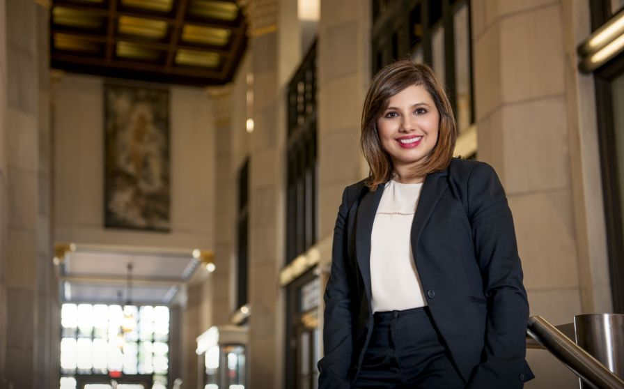 Lopez serves as Strategic Analytics team leader in Economic and Community Development at Alabama Power. Away from work, she lends her leadership skills to ¡HICA!'s junior board. (Deyse Lopez/Alabama Power)