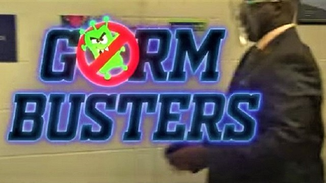 Germ Busters: 'America's principal' Dr. Lee and company make another COVID-19 parody video