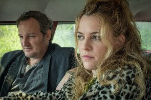 """Jason Clarke and Riley Keough in a scene from """"The Devil All the Time"""" on Netflix. (Glen Wilson/Netflix)"""