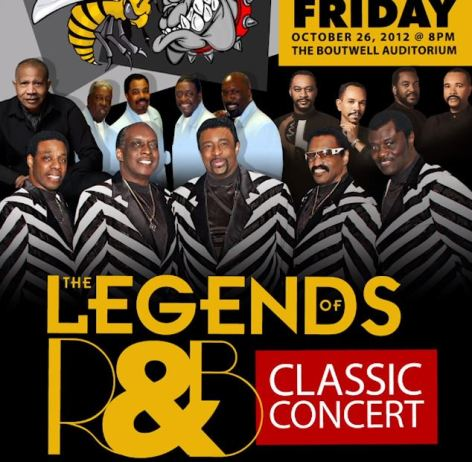 D. Tarver's shows have included Magic City Classic concerts, such as this Legends show featuring the Temptations. (contributed)