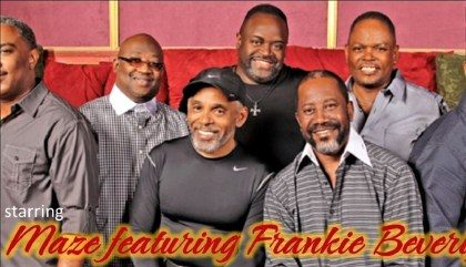 The superstar acts brought to Birmingham by D. Tarver include Frankie Beverly and Maze. (contributed)