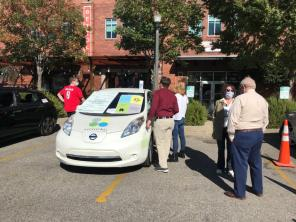 Electric vehicle ownership and infrastructure are growing in Alabama. (Michael Sznajderman / Alabama NewsCenter)