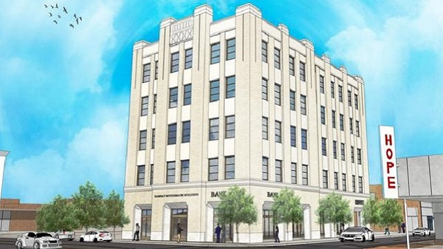 Redevelopment underway at historic Ramsay-McCormack Building in Ensley