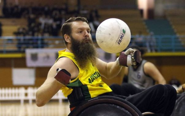 Low point wheelchair rugby has been added as an invitational sport at the 2022 World Games in Birmingham. (contributed)