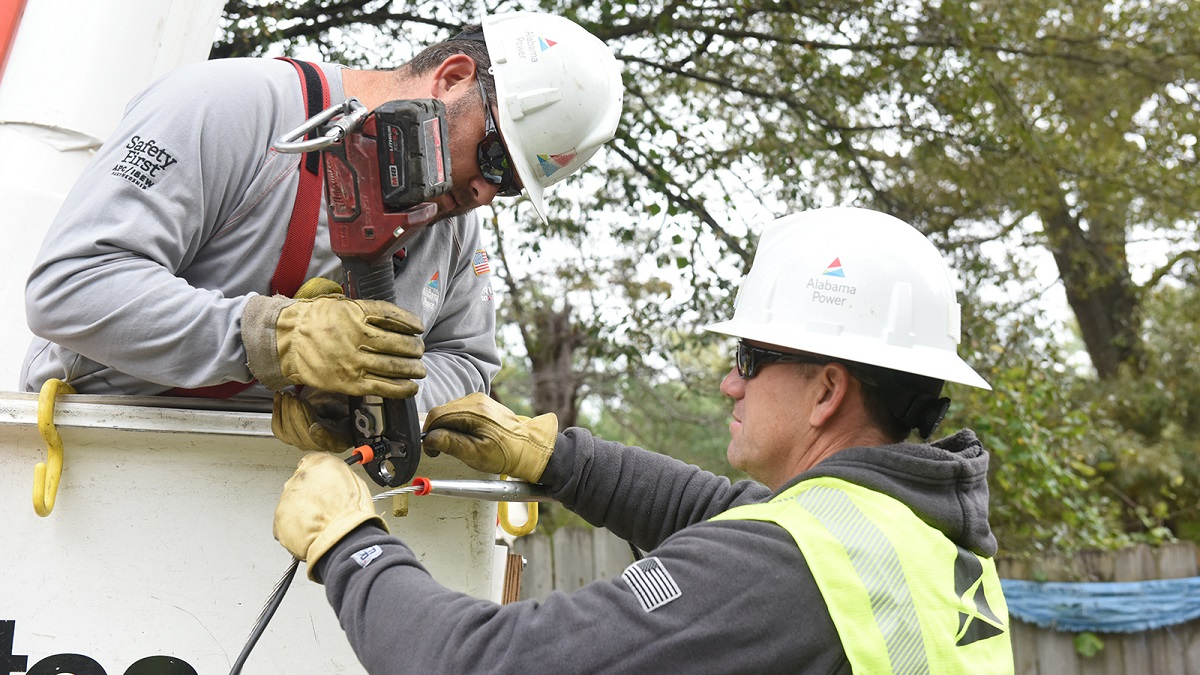 Alabama Power making significant strides to restore service after Hurricane Zeta