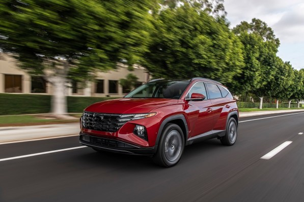 Production of the 2022 Tucson SUV will begin at Hyundai's Montgomery plant next year. It joins the new Santa Cruz crossover as the latest additions to Hyundai's Alabama production lineup. (Hyundai)