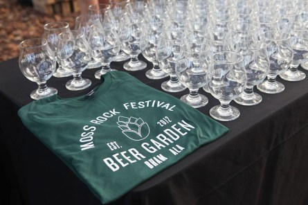 Sample beers from more than 45 breweries at Moss Rock's Beer Garden Trail. (contributed)