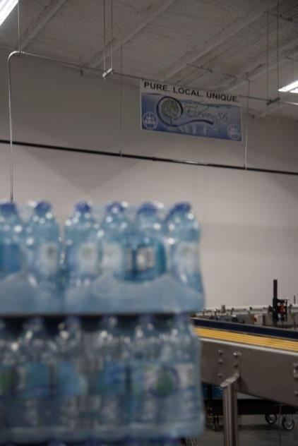 Eleven86 Real Artesian Water operates a bottling and distribution plant in Autaugaville. (Brittany Dunn / Alabama NewsCenter)