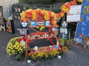 The 18th annual Day of the Dead remembrance in Birmingham (Ike Pigott/Alabama NewsCenter)