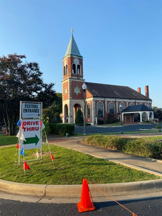 Signs will help you navigate around the church campus. (contributed)
