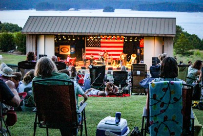 Check the Alexander City Jazz Festival schedule for live performances at Strand Park and The AMP on Lake Martin. (contributed)