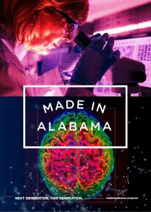 """A series of ads is part of the Alabama Department of Commerce Made in Alabama """"Next"""" campaign.  (contributed)"""