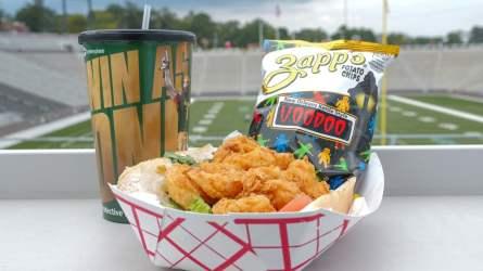 Shrimp Po Boy από την Broad Street.  (BJCC)