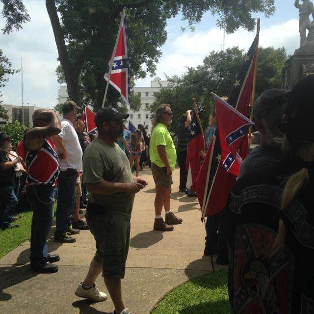 AL Capitol Confederate Flag Protest Rally_4