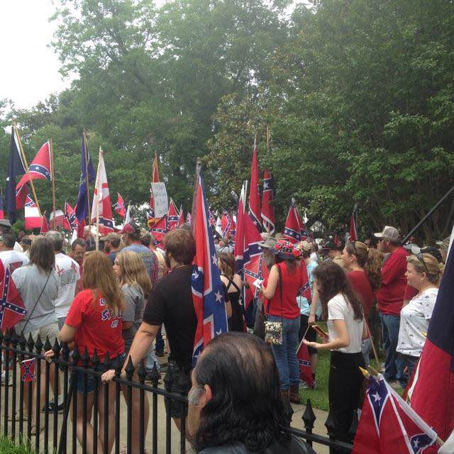 AL Capitol Confederate Flag Protest Rally_5