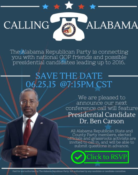 Ben Carson 25 June 2015 event