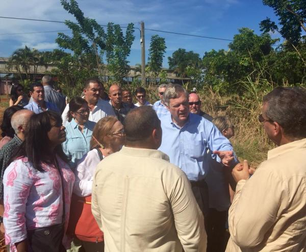 November 15, 2015: Congressional delegation to Cuba