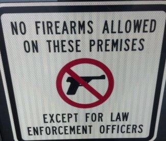 no guns allowed