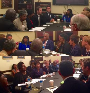 Birmingham Civil Rights meeting in DC