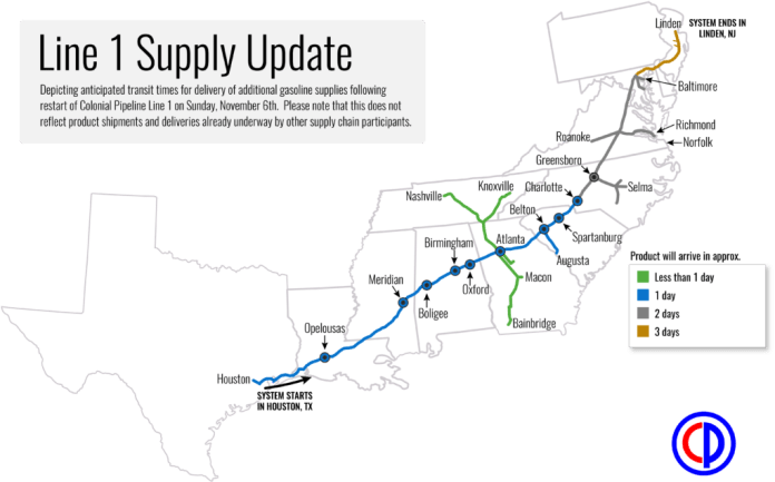 colonial_pipeline_line_1_supply_update_110616