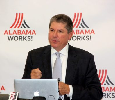Zeke Smith at AlabamaWorks announcement, Tues. Nov. 15, 2016.  [Photo Credit: AlabamaWorks]