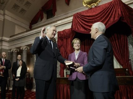 Luther Strange swearing in