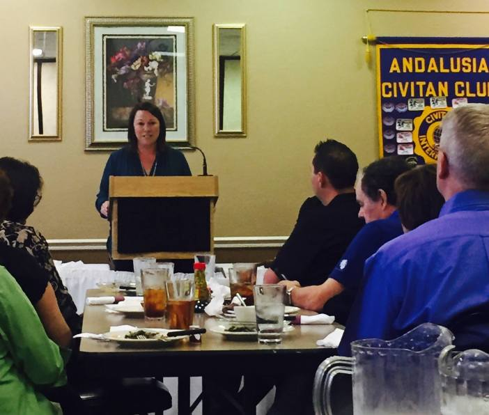 Martha Roby and Andalusia Civitan Club