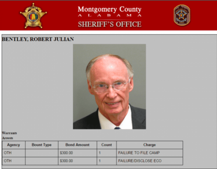 Robert Bentley mugshot