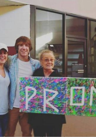 grandmother prom ask