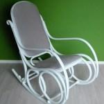Odnawianie fotela bujanego w stylu prowansalskim