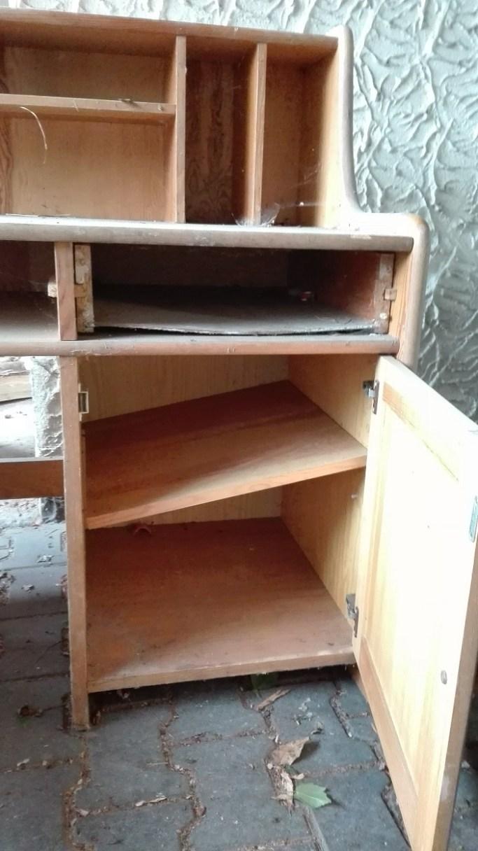 Biurko sosnowe do renowacji