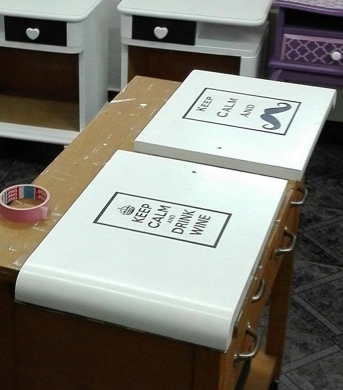 Nanoszenie grafik na fronty mebli przez transfer druku