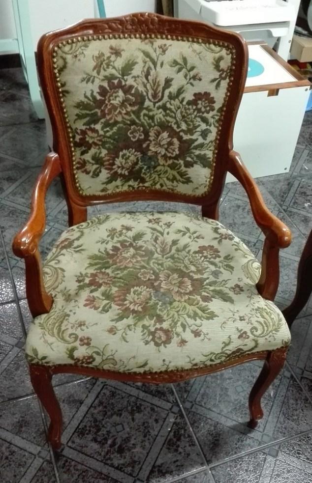Krzesło stylowe barokowe