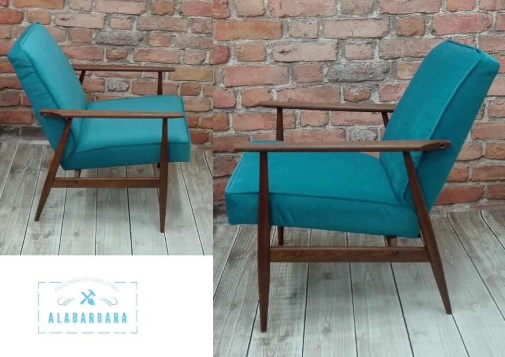 Renowacja fotela PRL