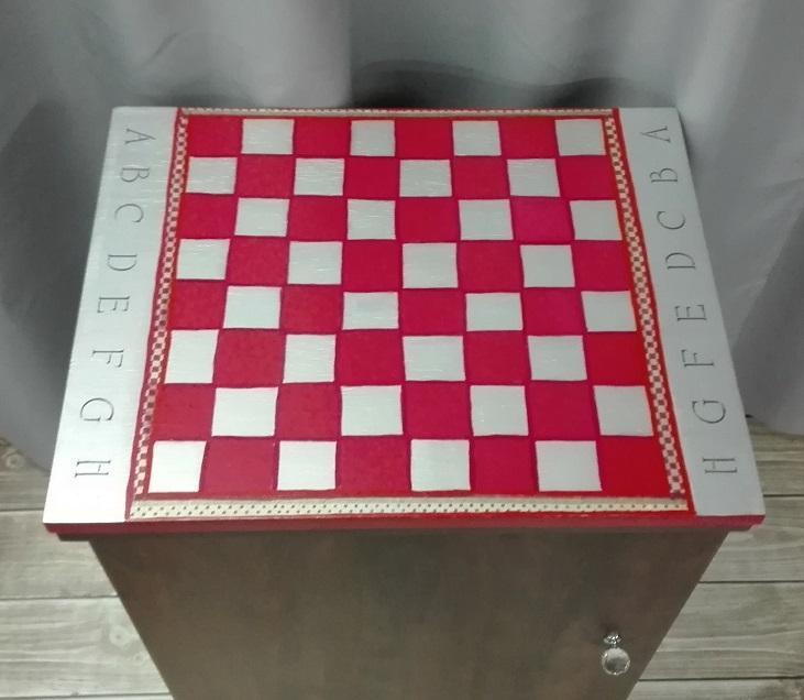 szachownica malowana