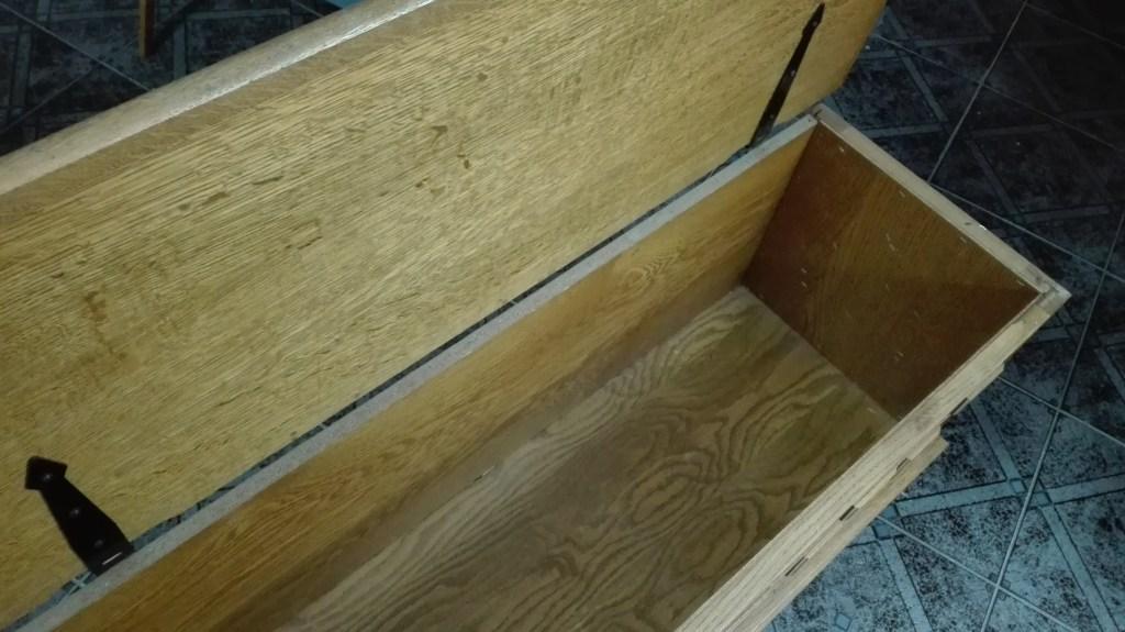 Odnawianie skrzyni drewnianej