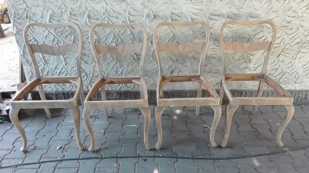 Renowacja krzeseł fornirowanych