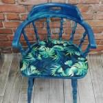 Krzesło z motywem urban jungle